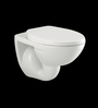 Parryware Flair White Ceramic Wall Hung Water Closet
