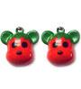 Pawzone Mickey Dog Collar Bells (Set of 2)