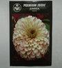 PBC Zinnia White Premium Seeds - Pack of 2 (200 Seeds)