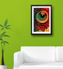 Pickypomp Paper 8 x 12 Inch Artistic Eye Framed Wall  Digital Art Print