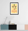 Pickypomp Premium Digital Paper 12 x 1 x 18 Inch Sarva Mangal Laminated Framed Poster