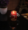 Premsons Apple & Cinnamon Scented Jar Candle