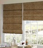 Presto Brown Polyester Solid Window Blind