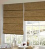 Presto Yellow Polyester Solid Window Blind