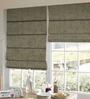 Presto Grey Polyester Solid Window Blind