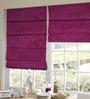 Presto Pink Polyester Solid Window Blind