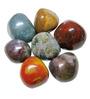 Prisha Multicolour Stones Fancy Decorative Pebbles - 0.5 Kg