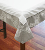 R Home Beige Cotton Table Cover ( Model No: RHTL 83L )