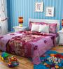 Rago Kids Barbie Double Bedsheet with 2 Pillow Covers