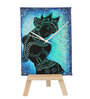 Rang Rage Multicolor Wooden Ajanta Black Table Clock