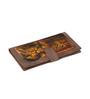 Rangrage Ajanta Tales Canvas & Leatherette Yellow Passport Holder