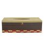 Rang Rage Minimalistic Beige Wooden Tissue Box