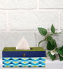 Rang Rage Triangle Green Wooden Tissue Box