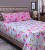 Raymond Home Multicolour 100% Cotton King Size Bedsheet - Set of 3
