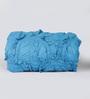 Reme Multicolour Cotton King Size Frill Designer Quilt