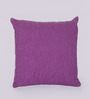 Reme Purple Cotton 16 x 16 Inch Embroidered Cushion Cover - Set of 2