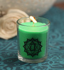 Resonance Meditation Rose & Peppermint Aroma Heart Chakra Healing Therapy Scented Candle