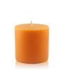 Resonance Orange Pillar Candle