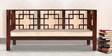 Oconto Three Seater Sofa in Honey Oak Finish by Woodsworth