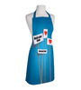 Right Blue Polyester Funny Free Size Apron
