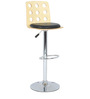 Ring Bar Chair in Black by The Furniture Store