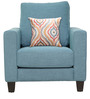 Rio Grande One Seater Sofa in Sapphire Colour by CasaCraft