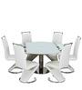 Royal Dining Set Six Seater by Royal Oak