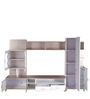 Royal Wall Entertainment Unit in Glossy Finish by Royal Oak