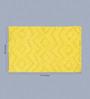 Angelino Bath Mat in Yellow by Casacraft