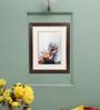 Sadhana Porwal Wood 17 x 1.5 x 22 Inch Om Shraddhayai Namah Framed Aroma Painting