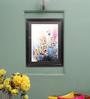 Sadhana Porwal Wooden 24 x 1.5 x 36 Inch Sadhana Talkies Mumbai Mist Riot of Colours Framed Painting