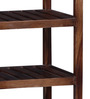 Polson Book Shelf in Provincial Teak Finish by Woodsworth