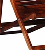 Doncaster Folding Chair in Honey Oak Finish by Amberville