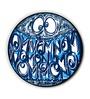 Seven Rays Blue MDF Omnom Fridge Magnet