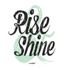 Seven Rays Paper 12 x 1 x 18 Inch Rise & Shine Unframed Poster