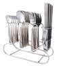 Shapes Koko Alpha Laser Stainless Steel 24-piece Cutlery Set