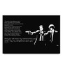 Shop Mantra Paper 19 x 13 Inch Pulp Fiction Long Quote Unframed Laminated Poster
