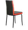 Six Seater Dining Set in Black Colour by Parin