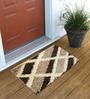 Skipper Brown Polyester 16 x 24 Inch Door Mat