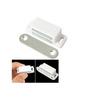 Smartshophar Silver Plastic and Steel 5 x 3 x 2 Inch Door Catcher - Set of 6