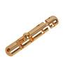 Smartshophar Capsul Gold Brass 10 x 1 x 1 Inch Tower Bolt