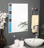 Leticia Mirror in Blue by CasaCraft