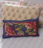 Soma Blues Cotton 8X15 Pillow Cover 1 Pc