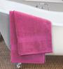 ESPRIT Dark Pink Cotton Hand Towel
