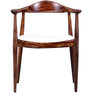 Stanwood Arm Chair in Warm Walnut Finish by Woodsworth