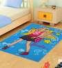 Status Barbie 2Pc Combo Rug Door Mat Chic Blue