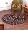 Luciano Area Rug in Brown by CasaCraft
