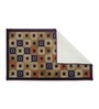 Malaga Area Rug in Brown by CasaCraft