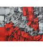 Studio3 Canvas 48 x 36 Inch 3872 Red & Black Abstract Unframed Painting