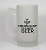 Stybuzz 500 ML Case Of Emergency Drink Beer Frosted Beer Mug